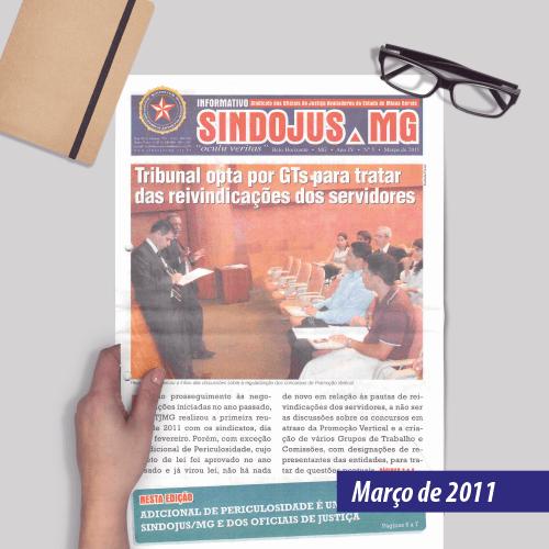 Informativo SINDOJUS MG 03/2011