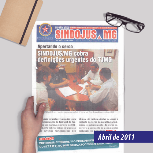 Informativo SINDOJUS MG 04/2011