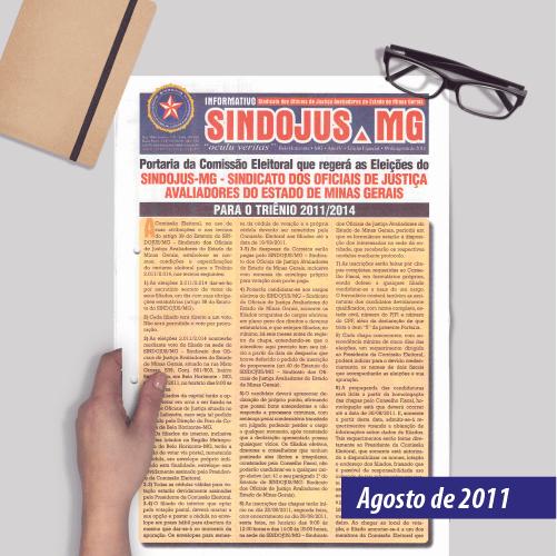 Informativo SINDOJUS MG 08/2011 Ed. Especial