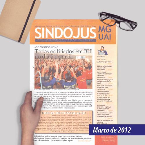 Informativo SINDOJUS MG 03/2012