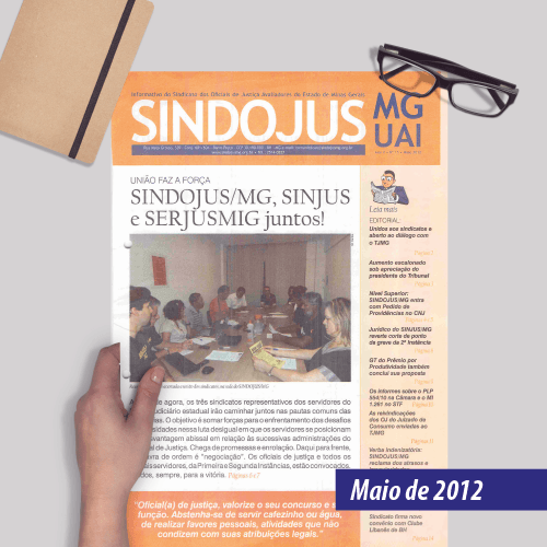 Informativo SINDOJUS MG 05/2012