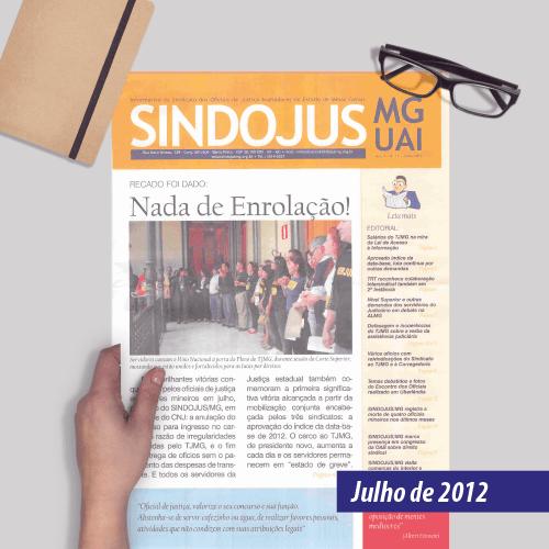 Informativo SINDOJUS MG 07/2012