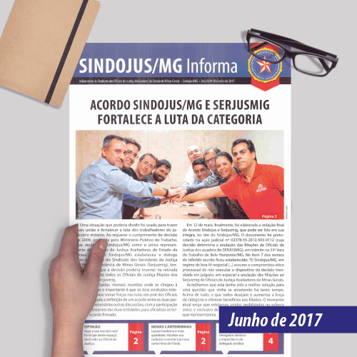 Informativo SINDOJUS MG 06/2017